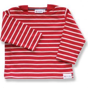 gestreepte baby shirt
