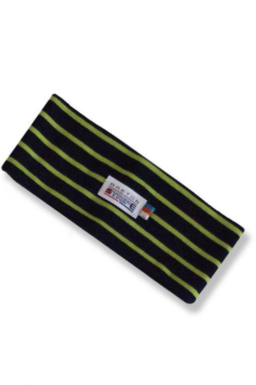 Headband A04 navy lime