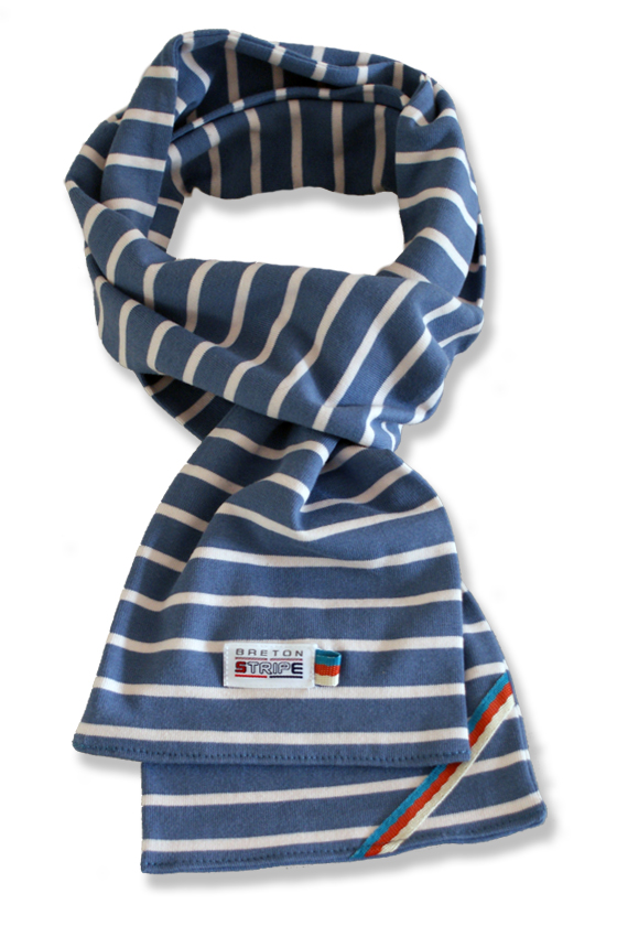 breton scarf jeans naturel