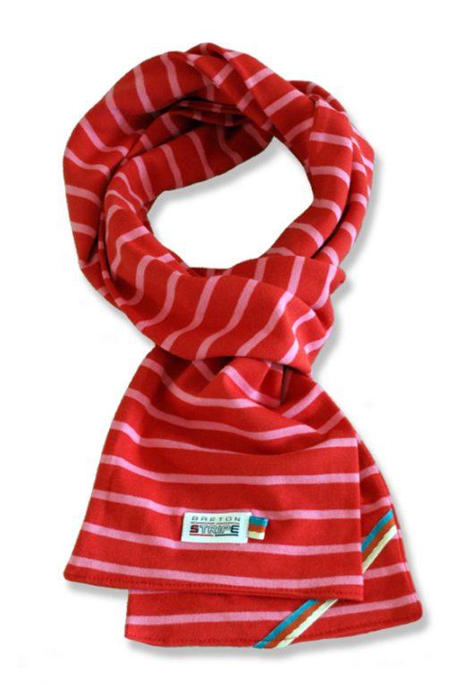 sjaal kinder K02 fuxia rose