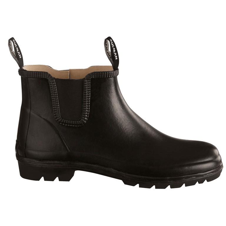 Sulman Rubberen Laarzen Zwart