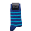 Breton-Stripe-sokken-Cobalt-Aqua